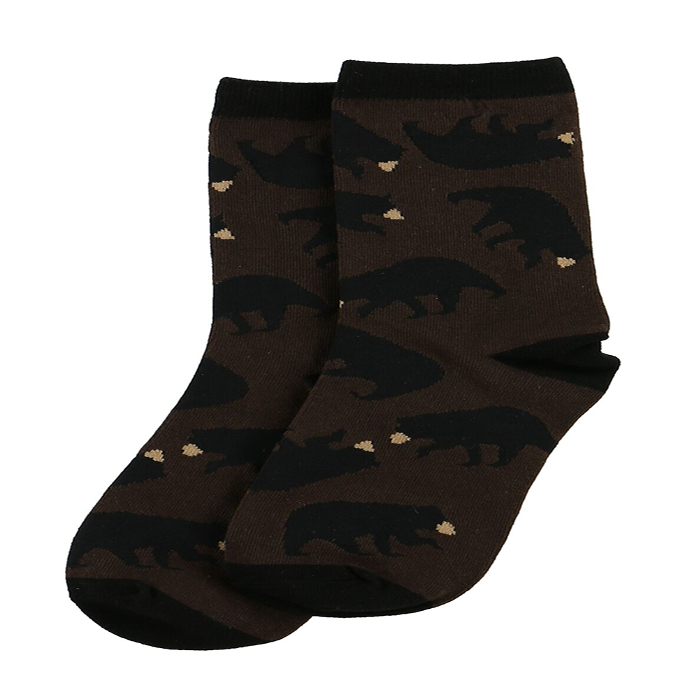 Timberland Bear Crew Sock by Lazy One (64838)