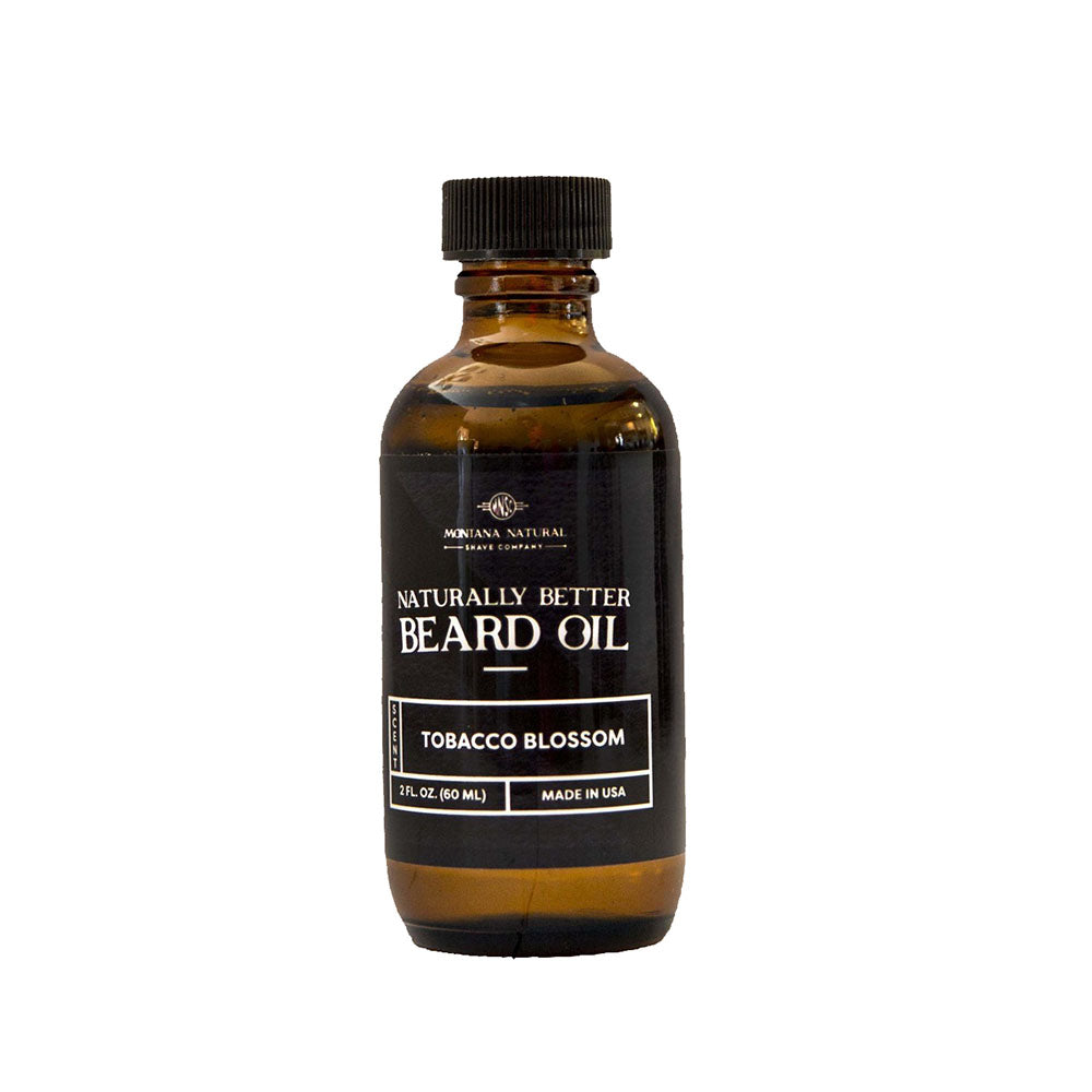 Tobacco Blossom Beard Oil by Montana Natural Shave Company