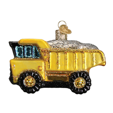 Toy Dump Truck Ornament by Old World Christmas