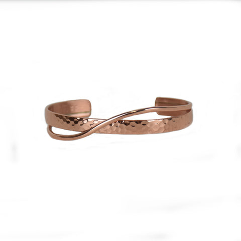 Venus Copper Metal Bracelet by Sergio Lub Jewelry
