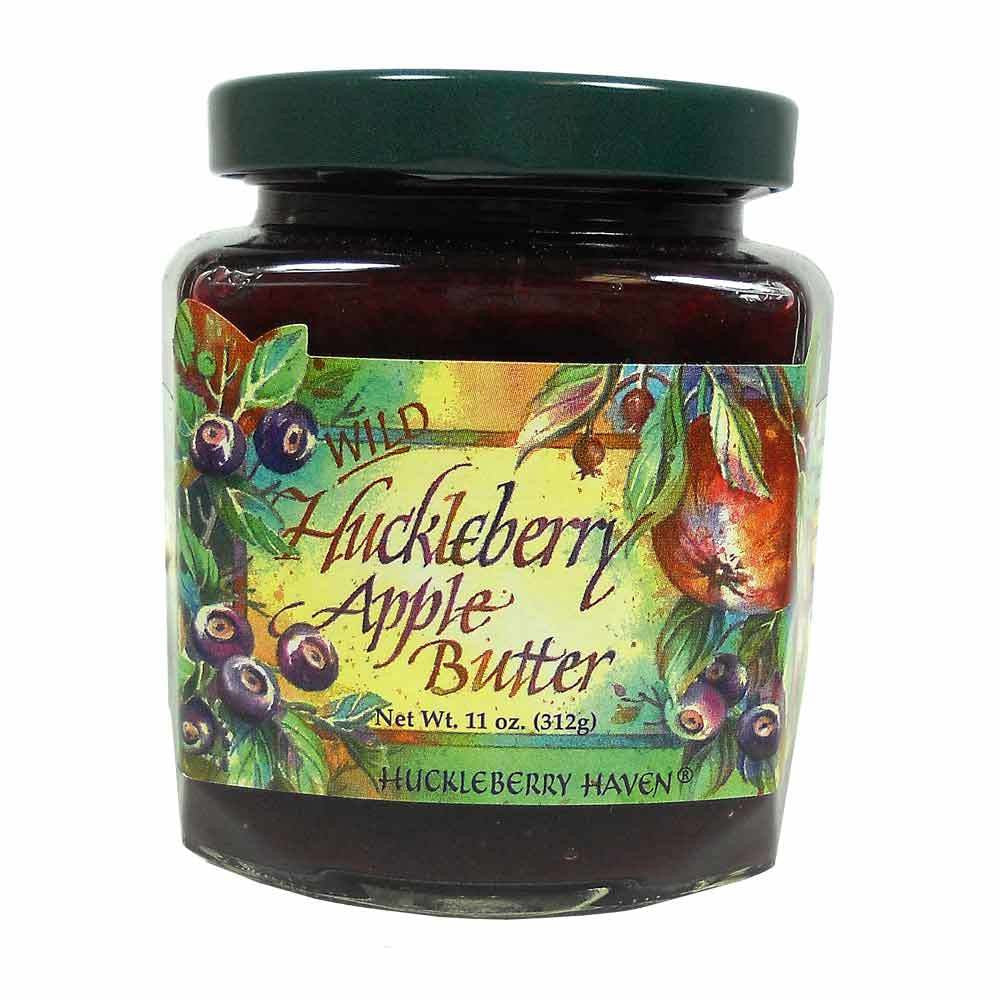 Wild Huckleberry Apple Butter - 11 oz.