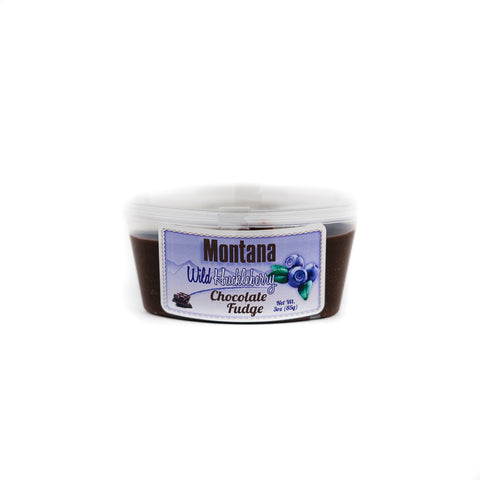 Wild Huckleberry Chocolate Fudge by Huckleberry Haven at Montana Gift Corral