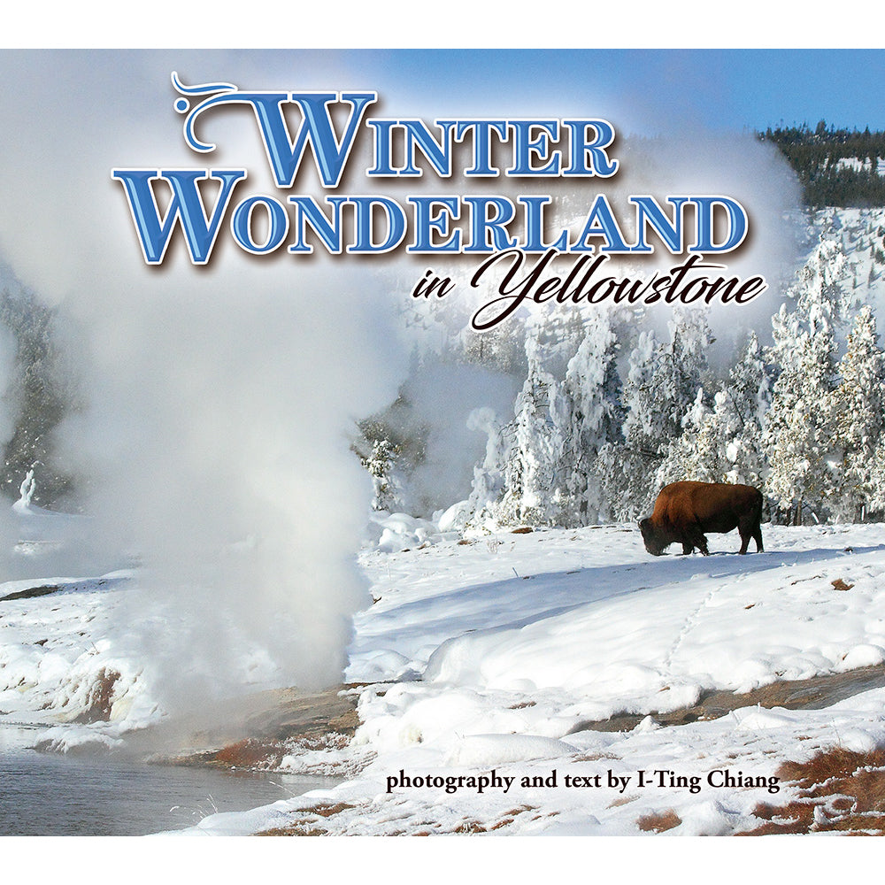 Winter Wonderland Yellowstone by I-Ting Chiang from Farcountry Press at Montana Gift Corral