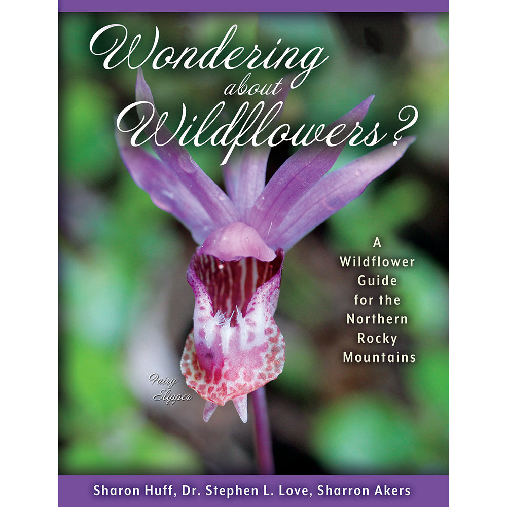 Wondering about Wildflowers: A Wildflower Guide for the Northern Rocky Mountains by Sharon Huff, Dr. Stephen L. Love, Sharron Akers from Farcountry Press at Montana Gift Corral