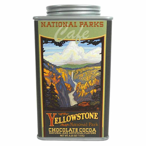 Yellowstone Cocoa Tin