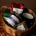 Coffee Gift Basket with Roots Jam