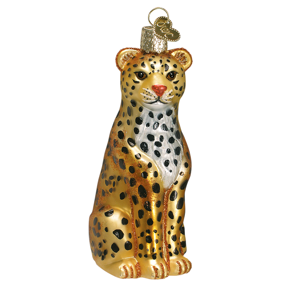 Leopard Ornament by Old World Christmas