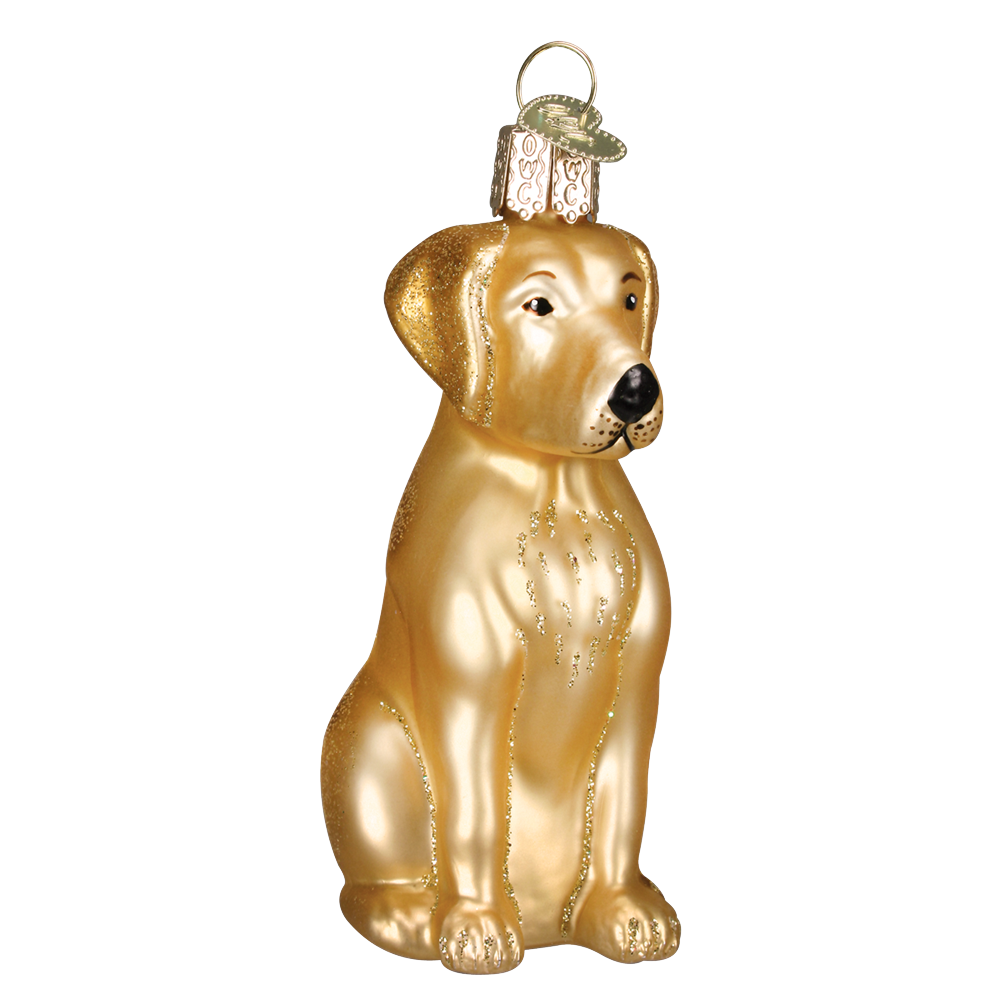 Yellow Labrador Ornament by Old World Christmas