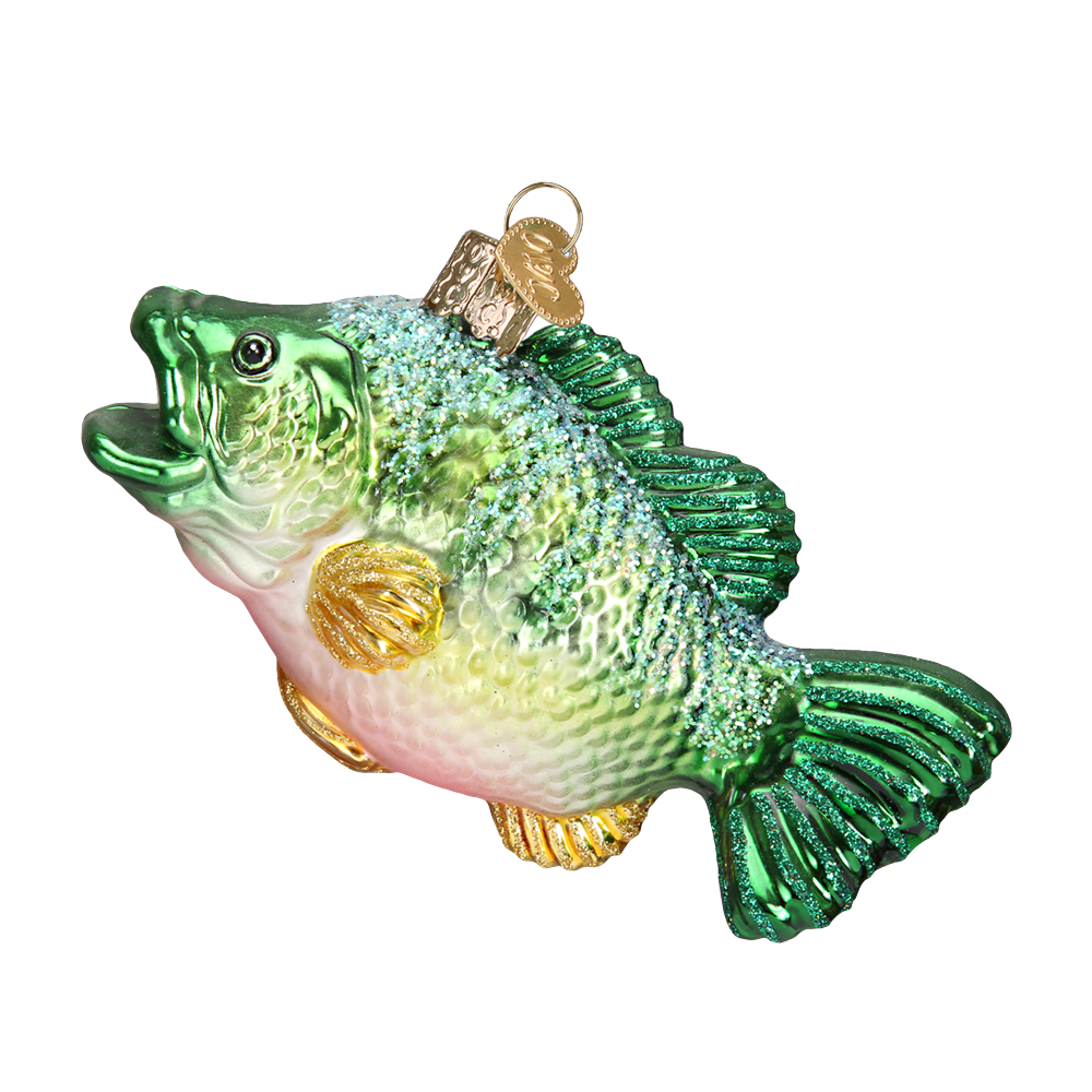 Large Mouth Bass Ornament by Old World Christmas