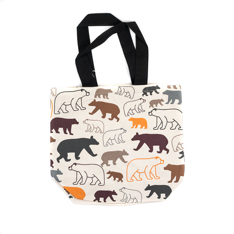 Our philosophy is that you can never have too many tote bags! The Bear Multicolor Shopper Tote by Art Studio Company makes shopping easy while also helping you cut down on your plastic bag usage!