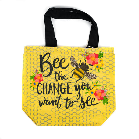 Bee the Change You Want to See Shopper Tote by Art Studio Company