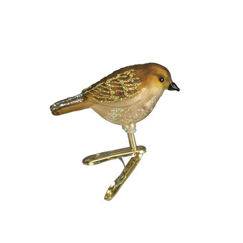 Assorted Miniature Song Bird Clip-On Ornament by Old World Christmas