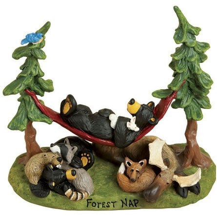 "Bearfoots ""Forest Nap"" by Big Sky Carvers"