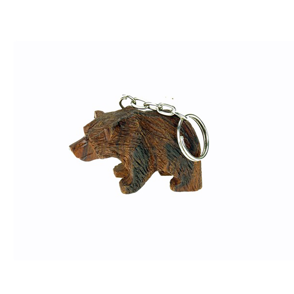 Bear 3D Keychain by Earthview, Inc.