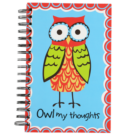 Owl My Thoughts Notebook by Lazy One