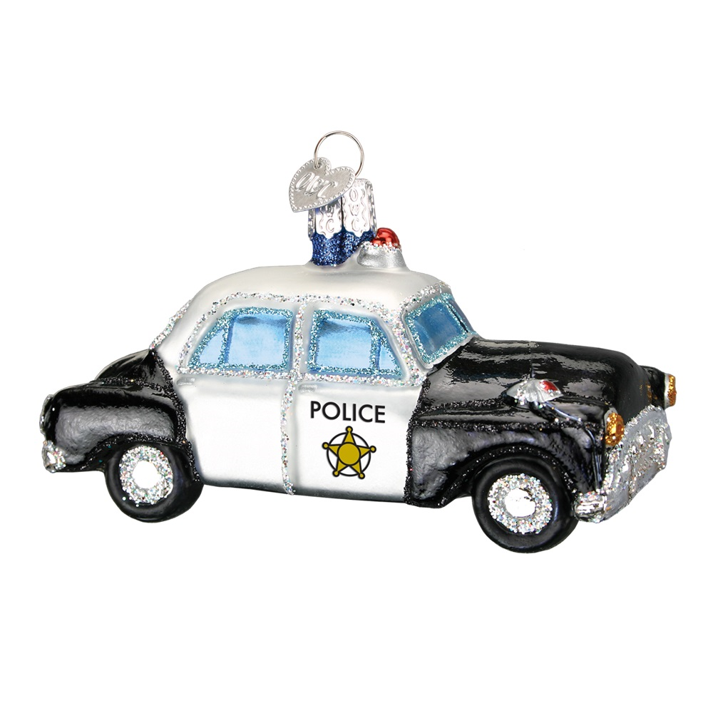 Police Car by Old World Christmas