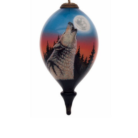 Dallen Lambson The Howling Inner Beauty Christmas Ornament