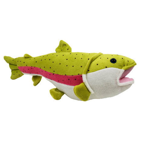 "Trout Stuffed Animal ""Caddis"" by The Hamilton Group"