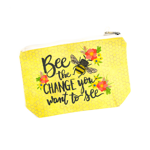 Bee the Change You Want to See Cotton Bag by Art Studio Company