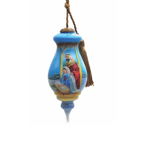 Hazel Lincoln Baby Jesus is Born Inner Beauty Christmas Ornament