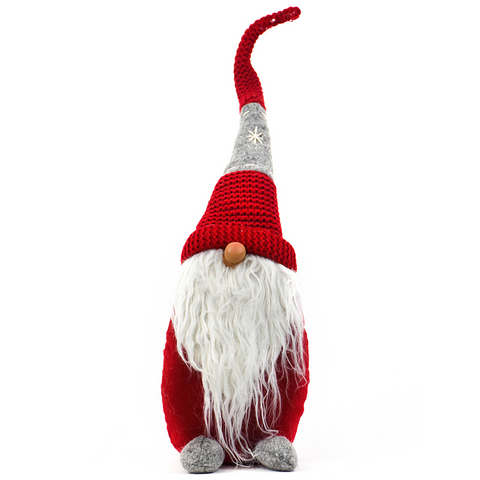 Red Gnome With Shiny Nose from Oak Street Wholesale
