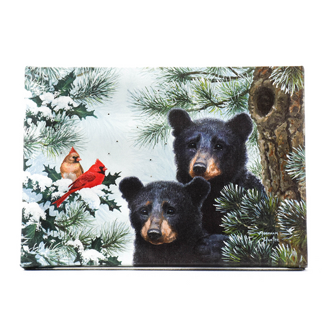 Barry and Barney the Bears Light-Up Tabletop Art by Oak Street Wholesale