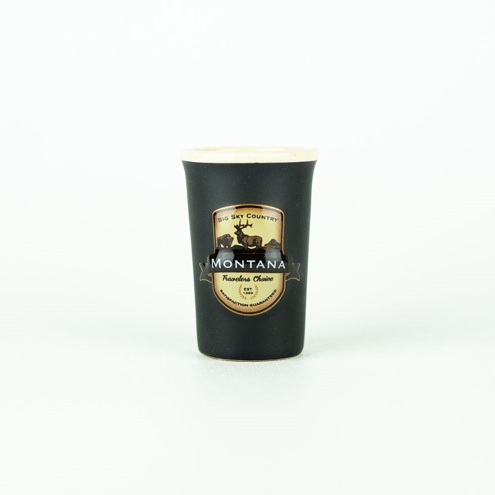Montana Emblem Shot Glass by Americaware