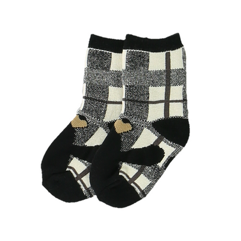 Bear Hug Gray Infant Sock by Lazy One