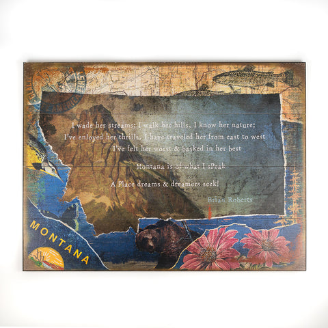 quote sentimental series MT Brian 23x31 wood by Meissenburg Designs (72318