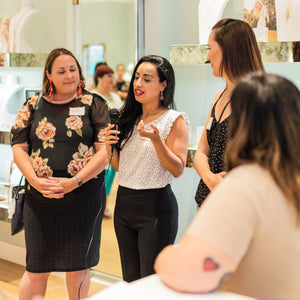 Boss Moms Chat & Pop Up at Kendra Scott with Jessy Furniel as panel speaker