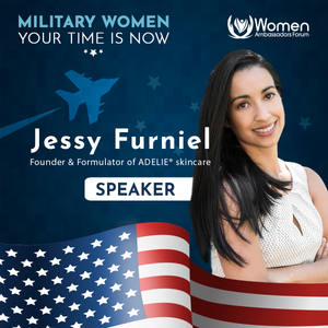 Jessy Furniel speaker at Women Ambassador Forum event
