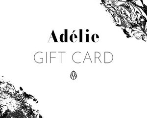 Adelie skincare gift card available to shop now