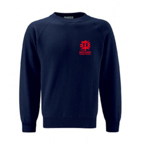 Red Oaks Primary School Classic Crew Neck Sweatshirt