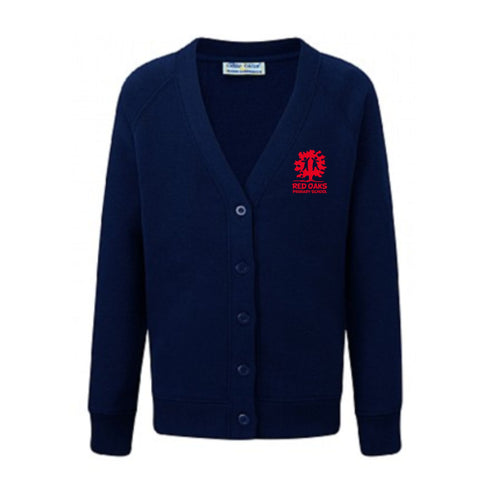 Red Oaks Primary School Classic Raglan Cardigan