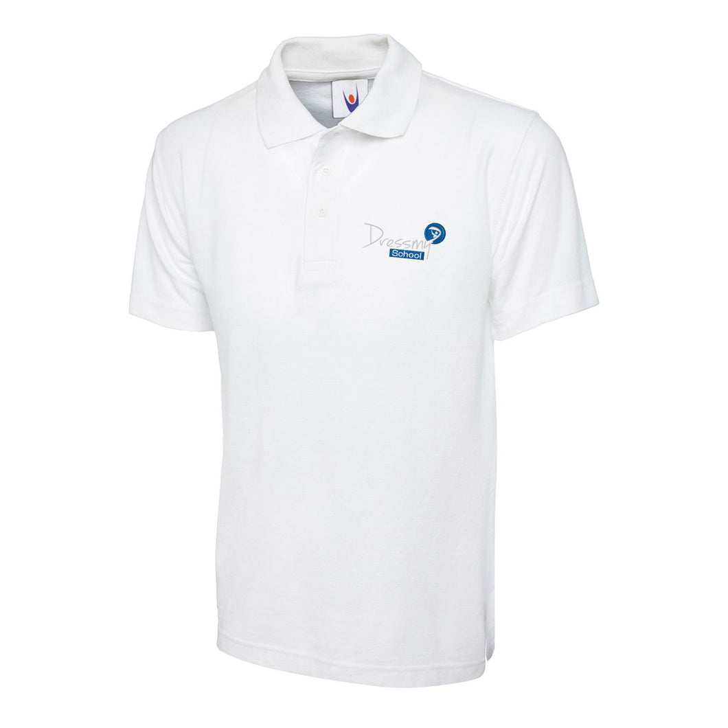 Standard Polo Shirt in White