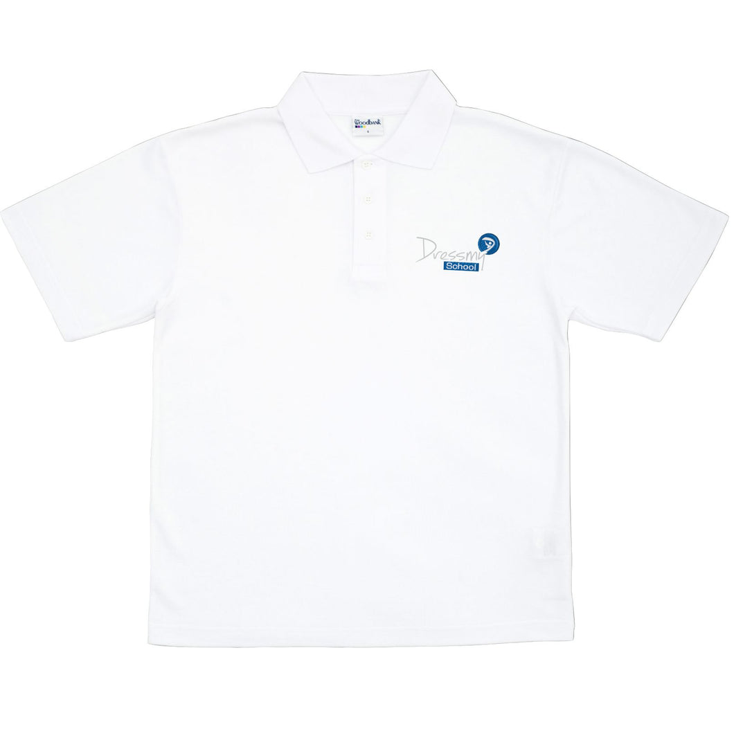 Premium Polo Shirt in White