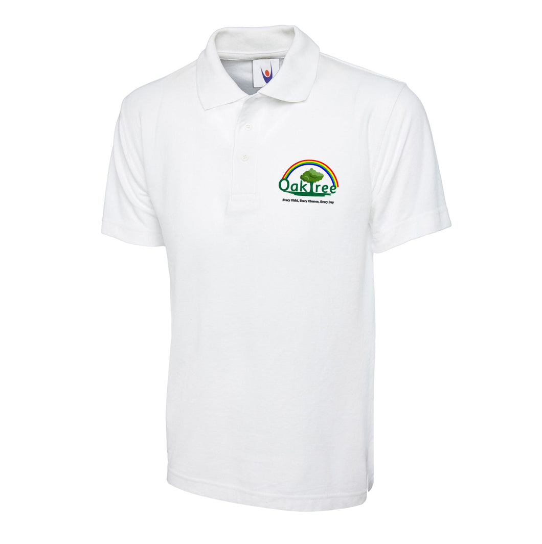 Oaktree Nursery and Primary School White Poloshirt