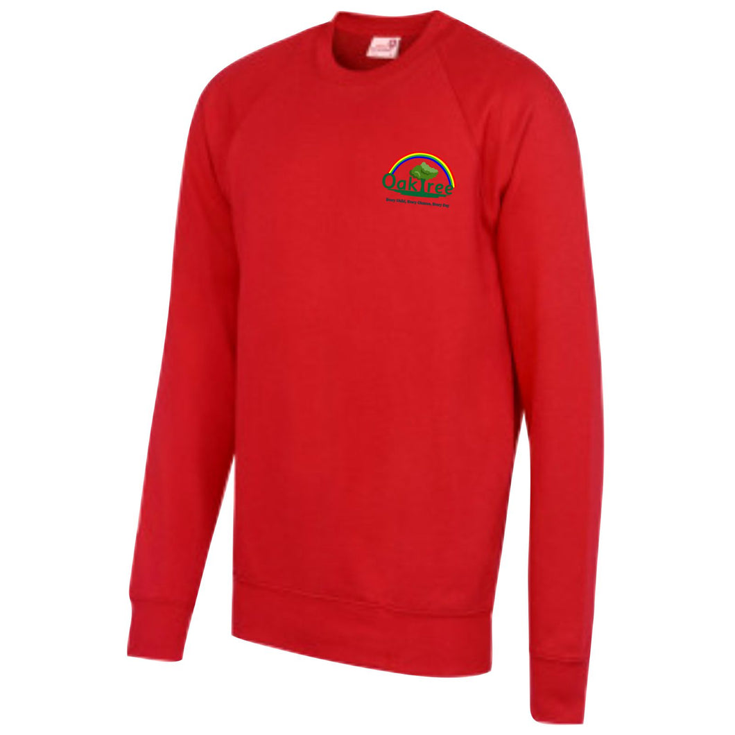 Oaktree Nursery and Primary School Raglan Sweatshirt