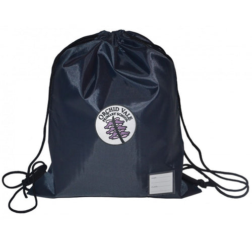 Orchid Vale Primary Standard Draw String Bag