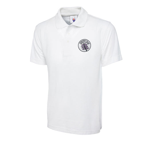 Orchid Vale Primary School Standard Polo Shirt in White