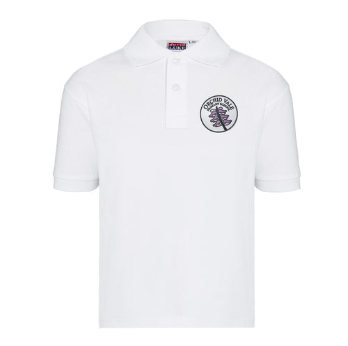 Orchid Vale Primary School ECO-Friendly Polo Shirt in White