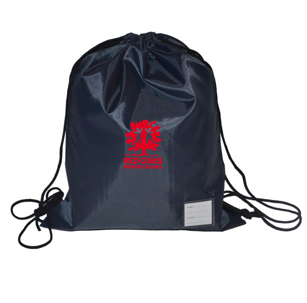 Red Oaks Primary School Standard Draw String Bag