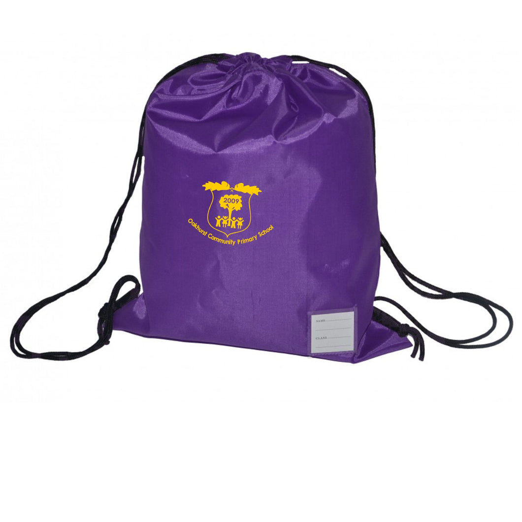 Oakhurst Community Primary School Standard Drawstring Bag