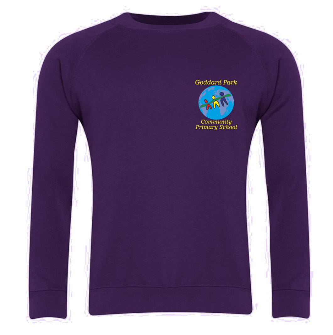 Goddard Park Community Primary School Classic Crew Neck Sweatshirt