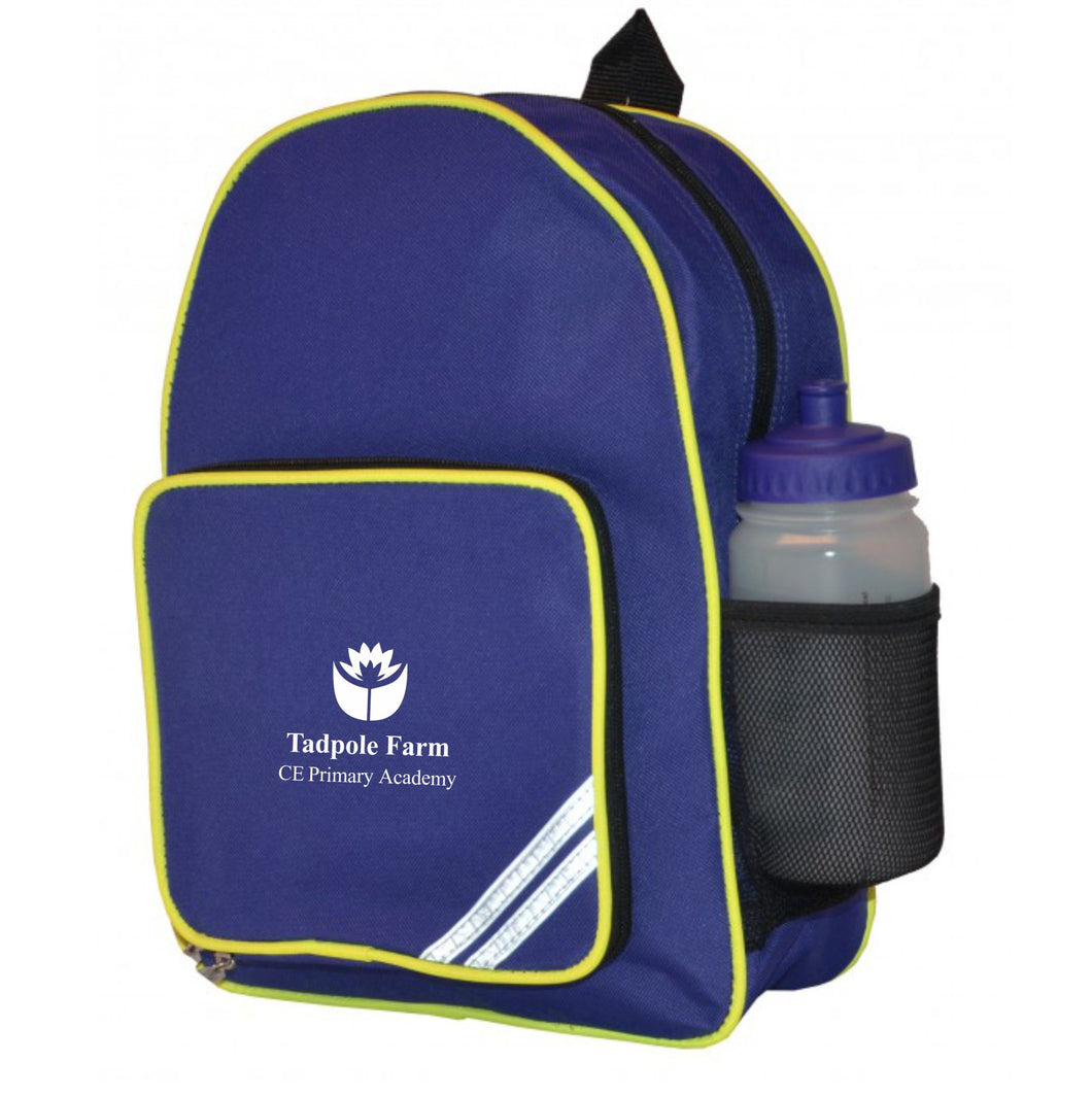 Tadpole Farm CE Primary Academy Standard Backpack - KEY STAGE 2 ONLY
