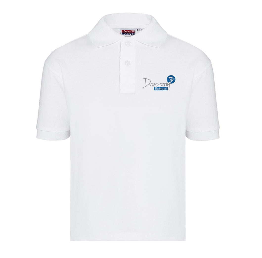 ECO Friendly Polo Shirt in White