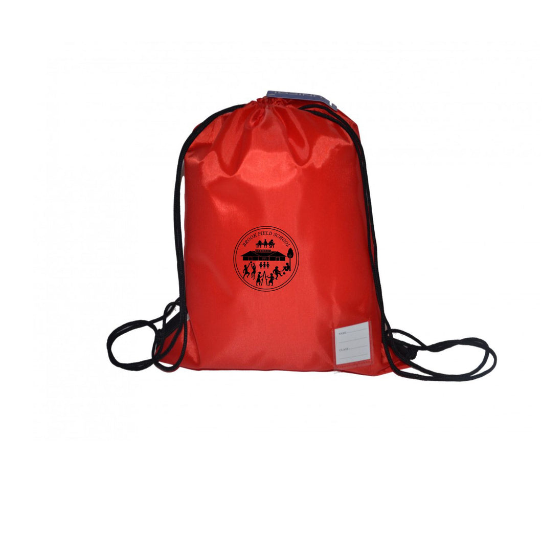 Brook Field Primary School PE Drawstring Bag