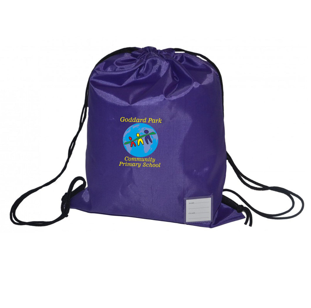 Goddard Park Community Primary School PE Drawstring Bag