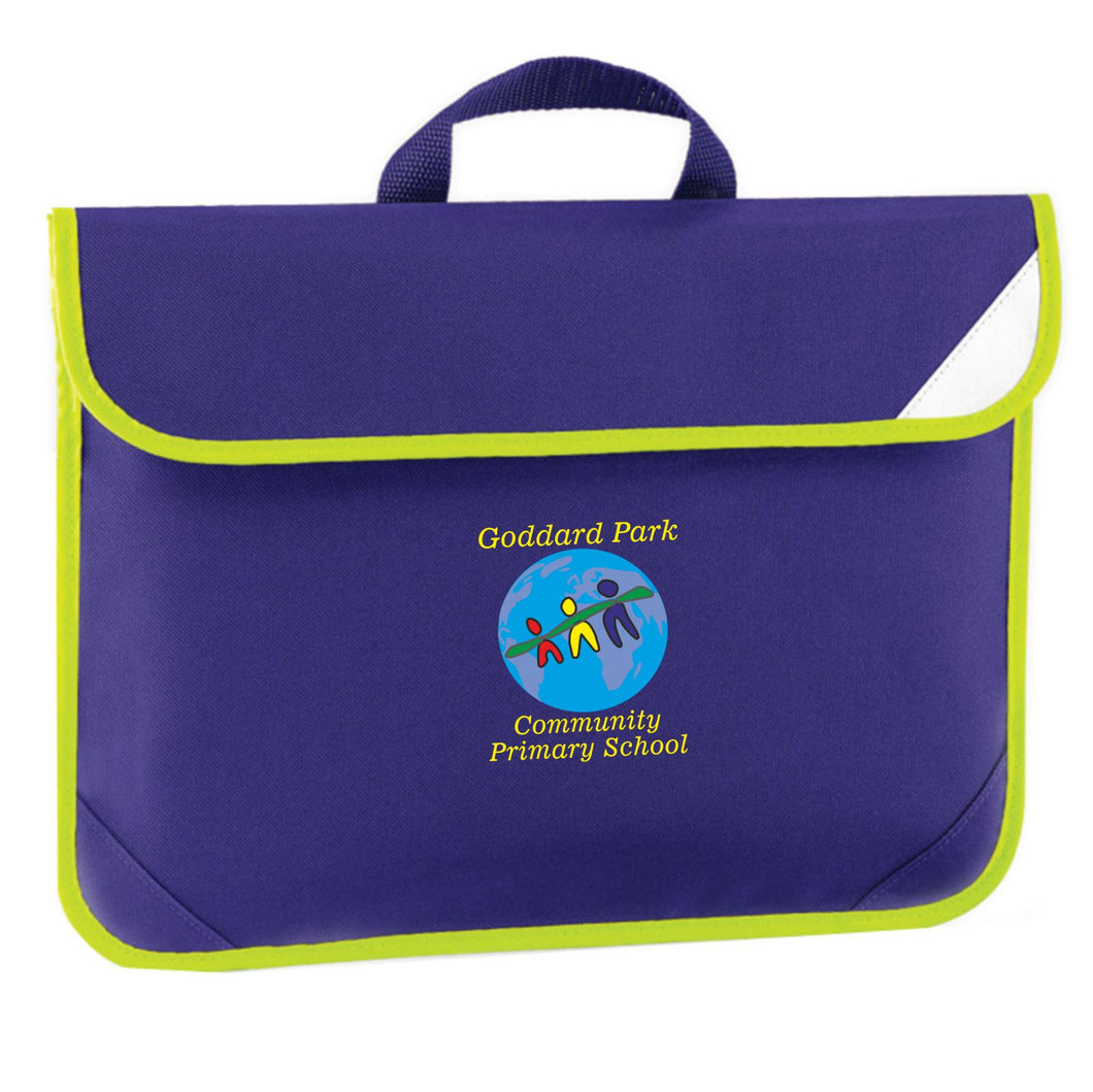Goddard Park Community Primary School book bag