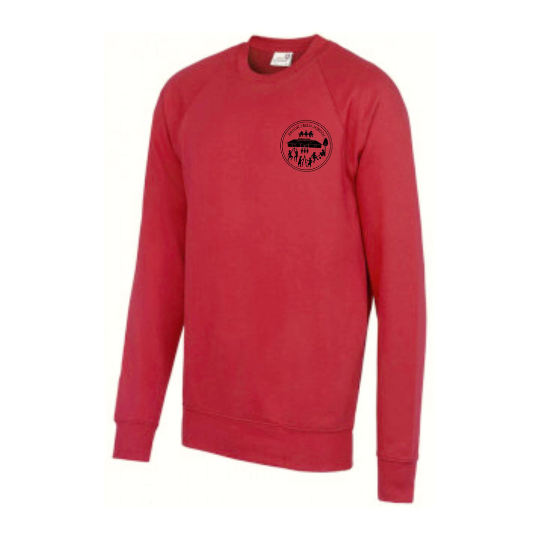 Brook Field Primary School Raglan Sweatshirt